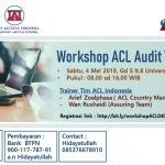 Workshop ACL Audit Tools