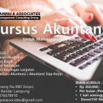 Kursus Akuntansi untuk SMK,Mahsiswa dan Umum di Lampung