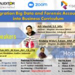 Integration Big Data and Forensic Accounting into Business Curriculum