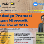 Mendesign Promosi dengan Microsoft Power Point 2016