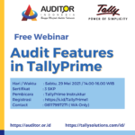 Audit Features in TallyPrime